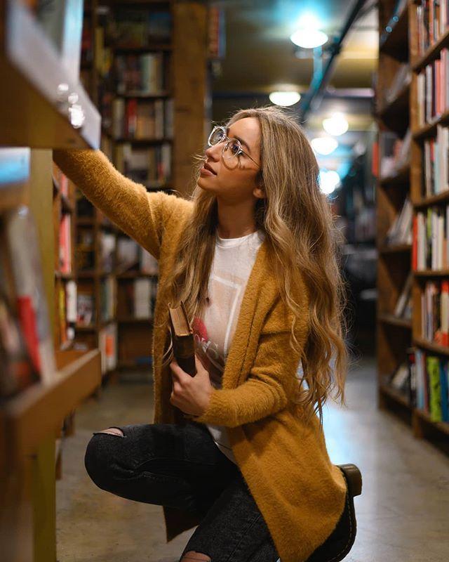The Last Bookstore  Model - @chantellelisette . . #nikonz6 #thelastbookstore #NikonNoFilter #instapic #beautiful #instagood #picoftheday #photooftheday #color #composition #focus #paintingwithlight #model #moodyports #photoart #photoshoot #photogenic #bravogreatphoto #nikonphoto #bookstorephotography #nikonz6mirrorless #lowlightphotoshoot