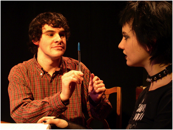 JT Patton & Maggie Bell in the New York premiere of Strange Attractions