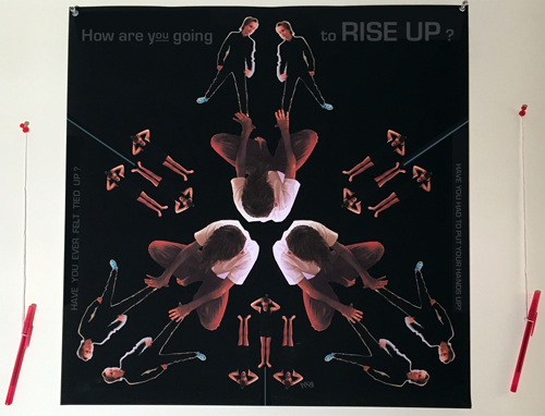 How are you going to rise up? Have you ever felt tied up? Have you had to put your hands up?