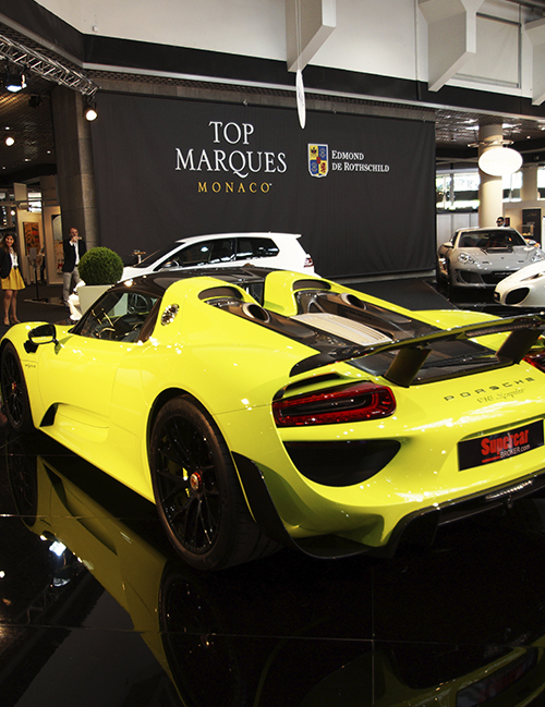 Top Marques   The Grimaldi Forum 19 - 22nd April 2018  Supercar, Yacht & Luxury goods event ---  Monaco