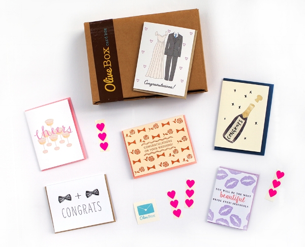 """""""Wedding & Anniversary Card Box"""" available from  OliveBox."""