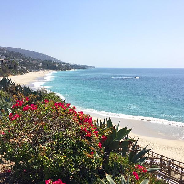 Summertime in Laguna Beach.