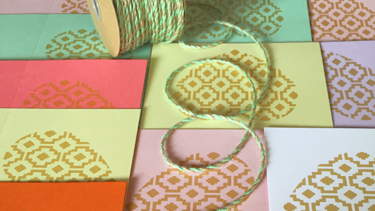 pastel and gold glam love cards - the fresh young beat of expressed, here by the designer of the unexpected invented what a unique look