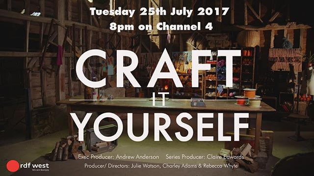 Happy to have one of my cards included in 'Craft It Yourself' - a new tv program starting next week in the U.K. Please follow and share with all of your crafty friends! @craftityourselftv