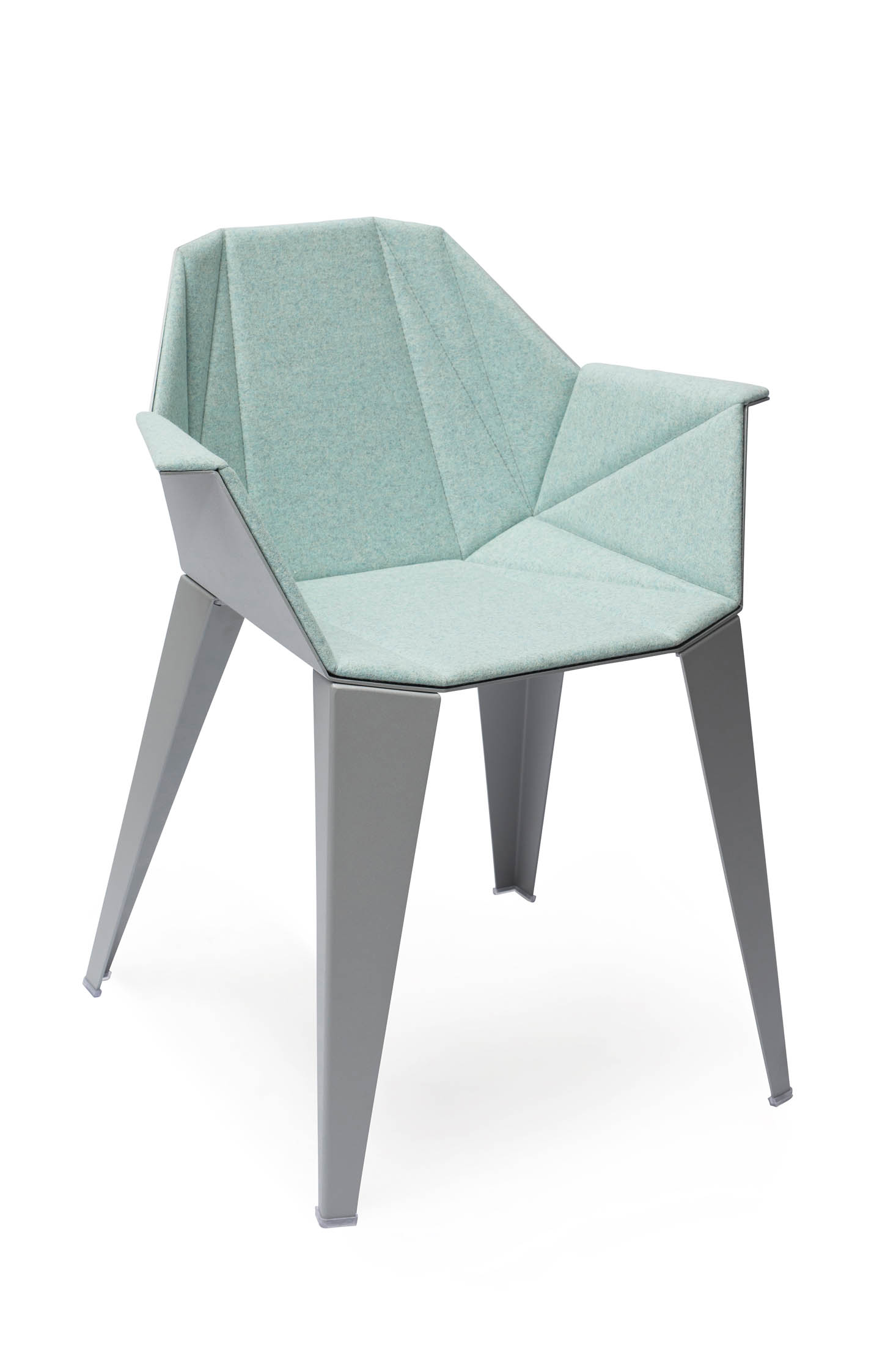 alumni-alpha-aluminum light-blue-upholstered-side-angle.jpg