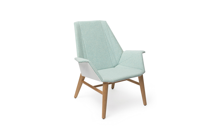 Alumni Lounge Wood white light blue upholstered_side angle.jpg