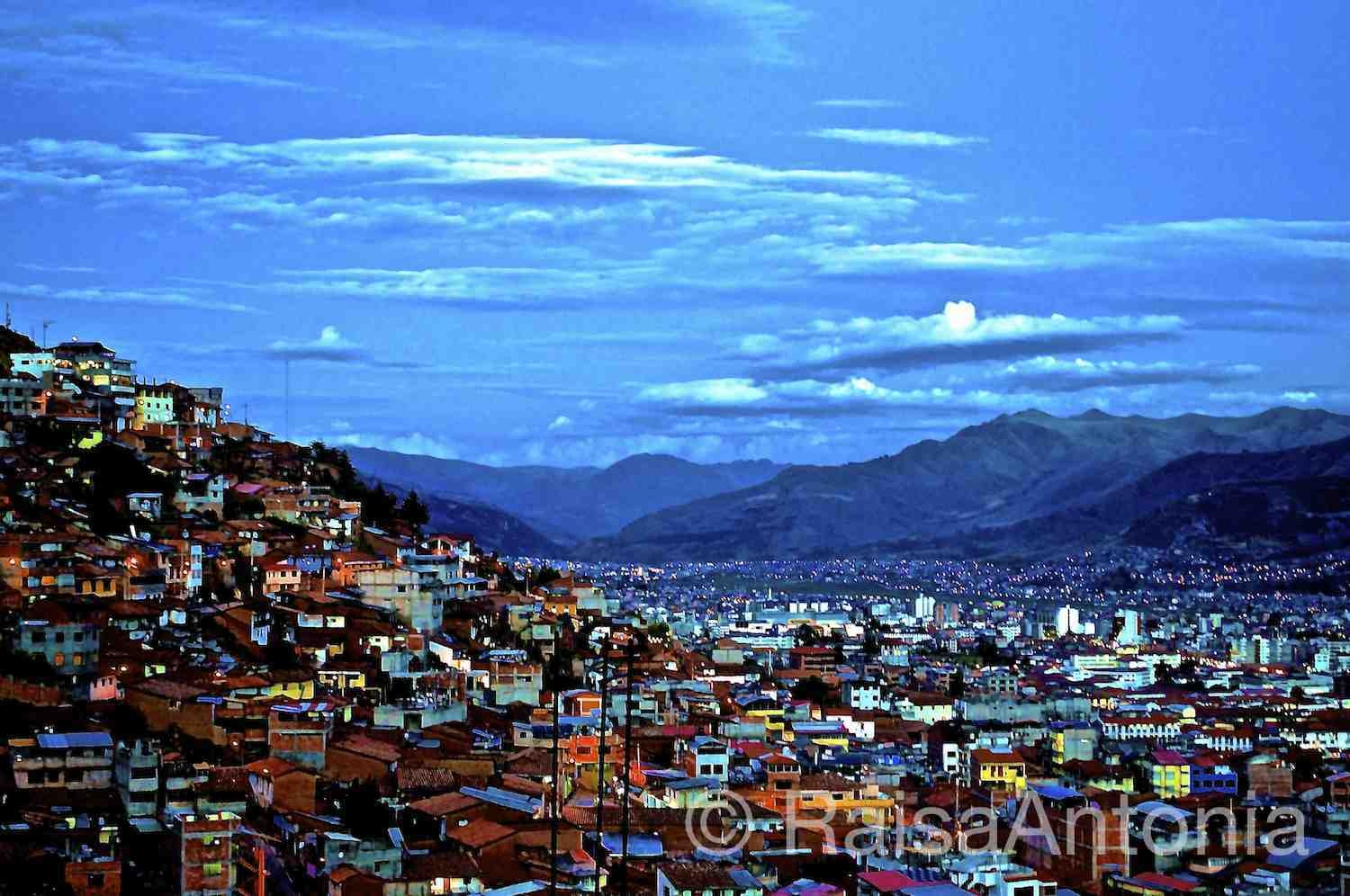 Cusco in Twilight