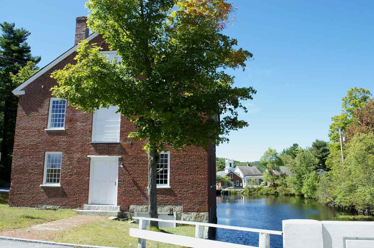 These former mill buildings are all part of the Historic Harrisville, which has done an extraordinary job of historic preservation on these often difficult-to-maintain brick buildings in particular.