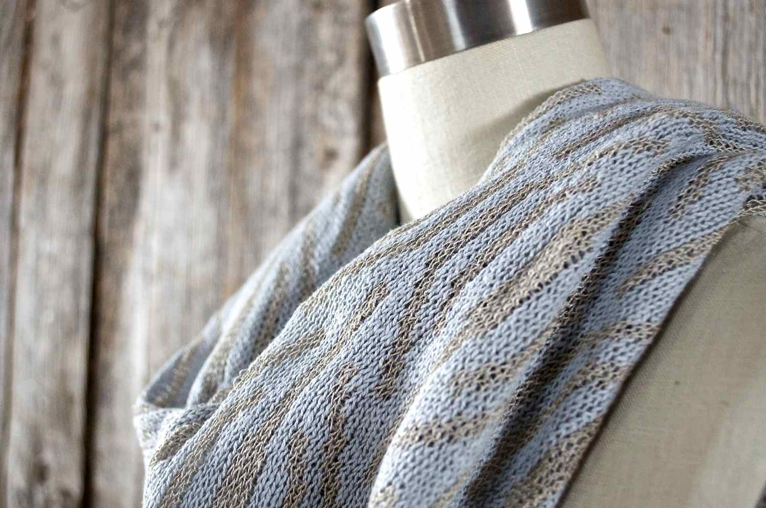 Summer infinity scarves and more colorways in the Lanza shawl coming soon!  Excited to have more options available for the upcoming season.
