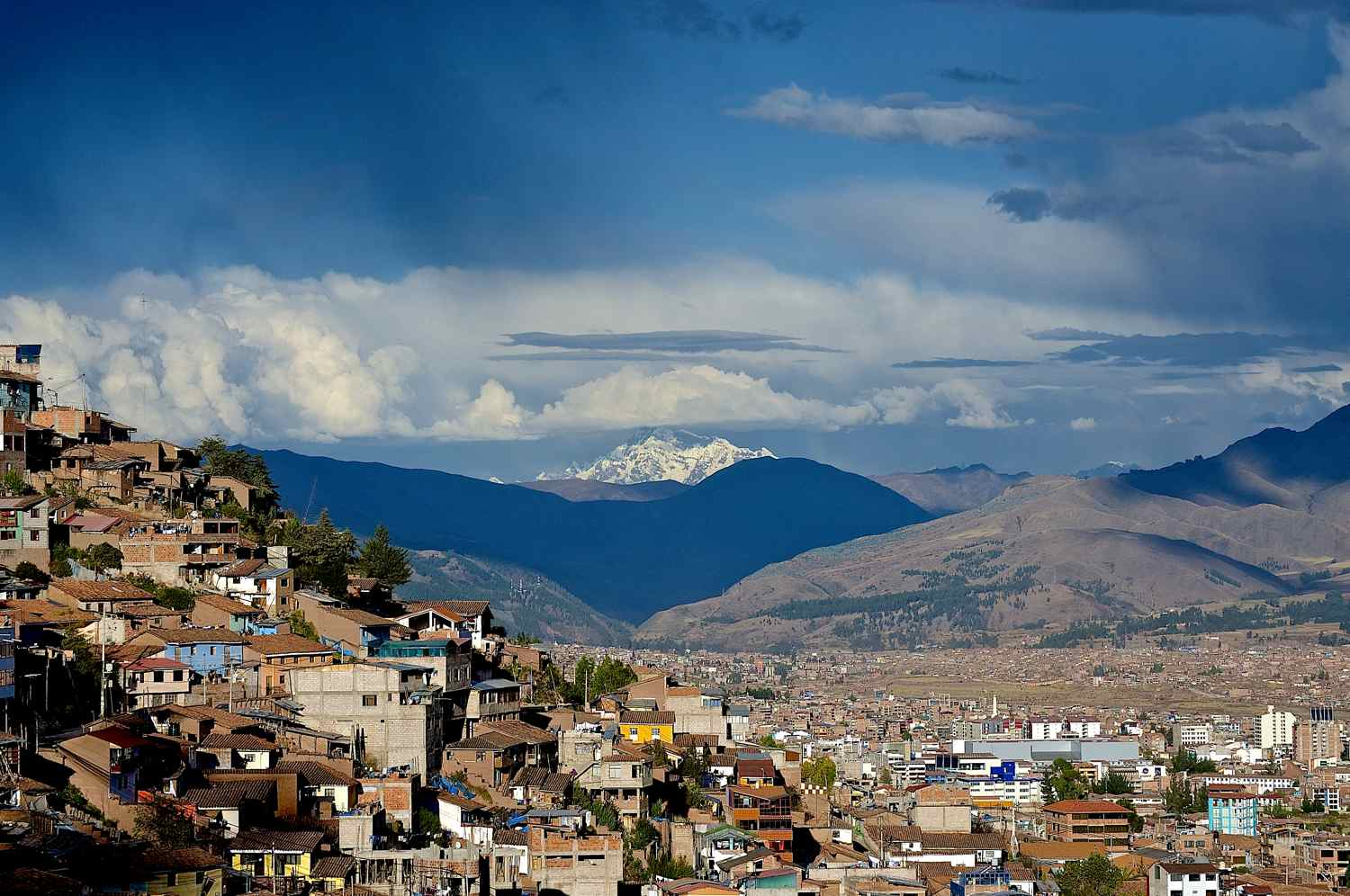 This was our view from the San Blas neighborhood of Cusco, Peru! Hard to fathom we looked upon these buildings, the Andes and this Ausangate mountain for 6 incredible months.