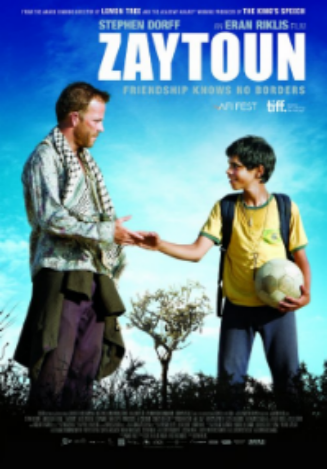 Zaytoun is the story of an unlikely alliance between a ten year old Palestinian refugee boy and an Israeli fighter pilot shot down over Beirut in 1982. Their initial distrust develops into friendship as they make their way across war torn Lebanon on a journey to a place they both call home.  ZAYTOUN was directed by Eran Riklis. Gareth Unwin ( Bedlam Productions ) and Fred Ritzenberg produced.