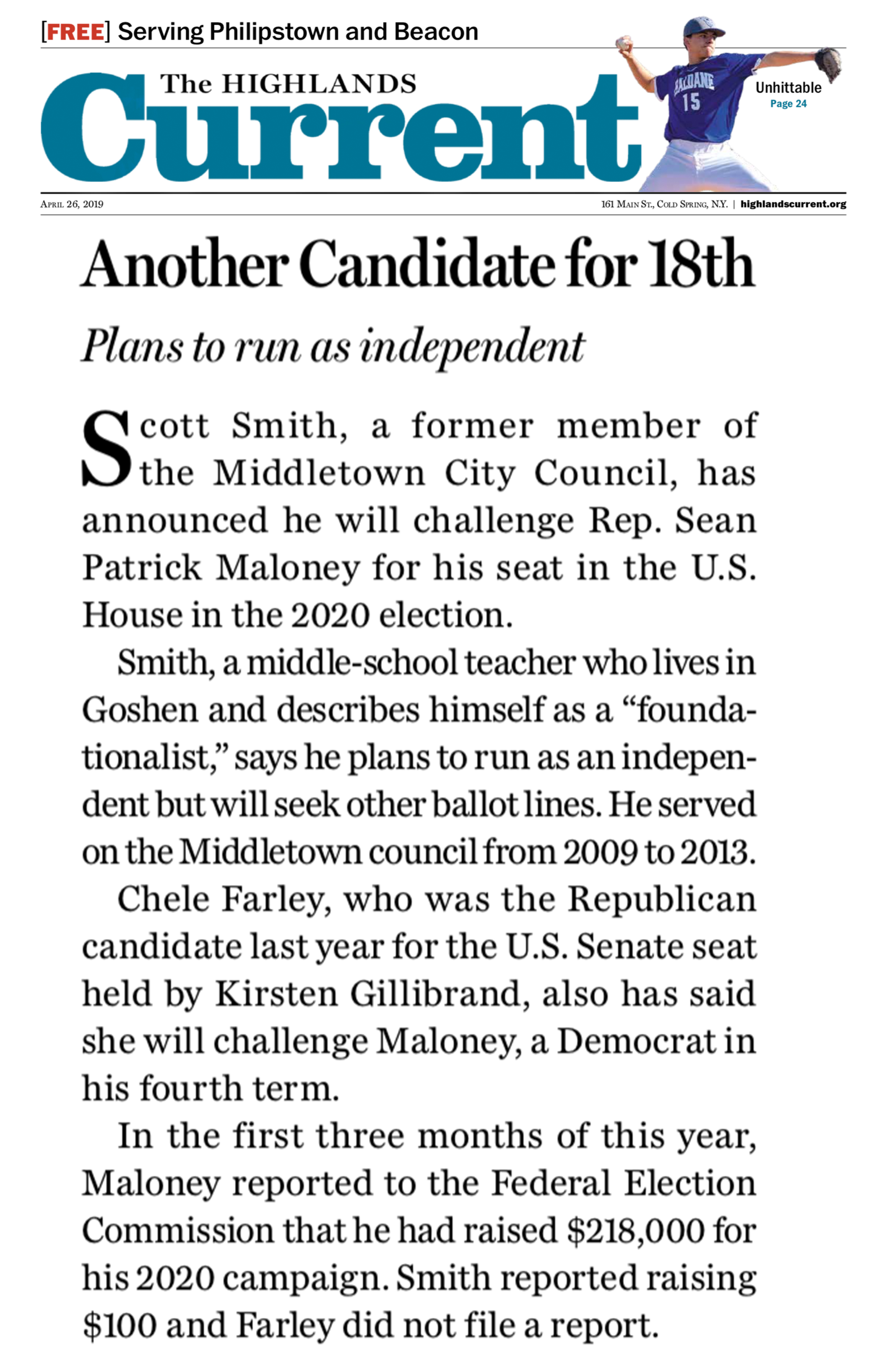 Highlands Current Reports on Scott Smith for Congress Campaign.jpg