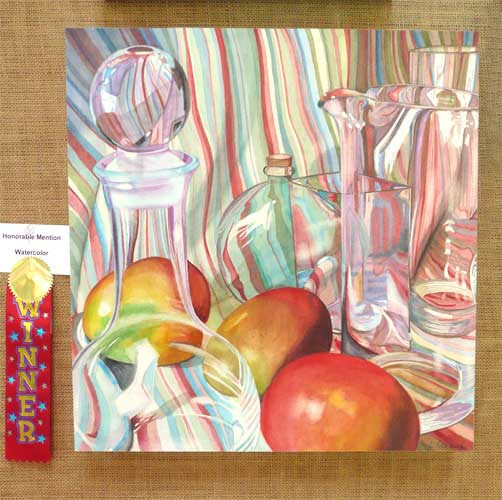Letty Oratowski - Watercolor Honorable Mention