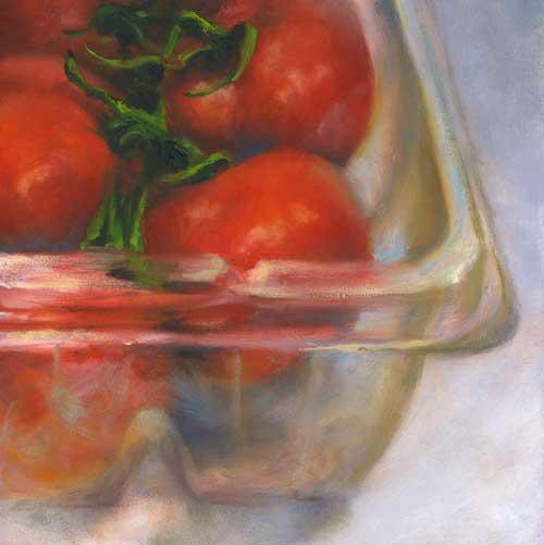 Nestled : oil painting