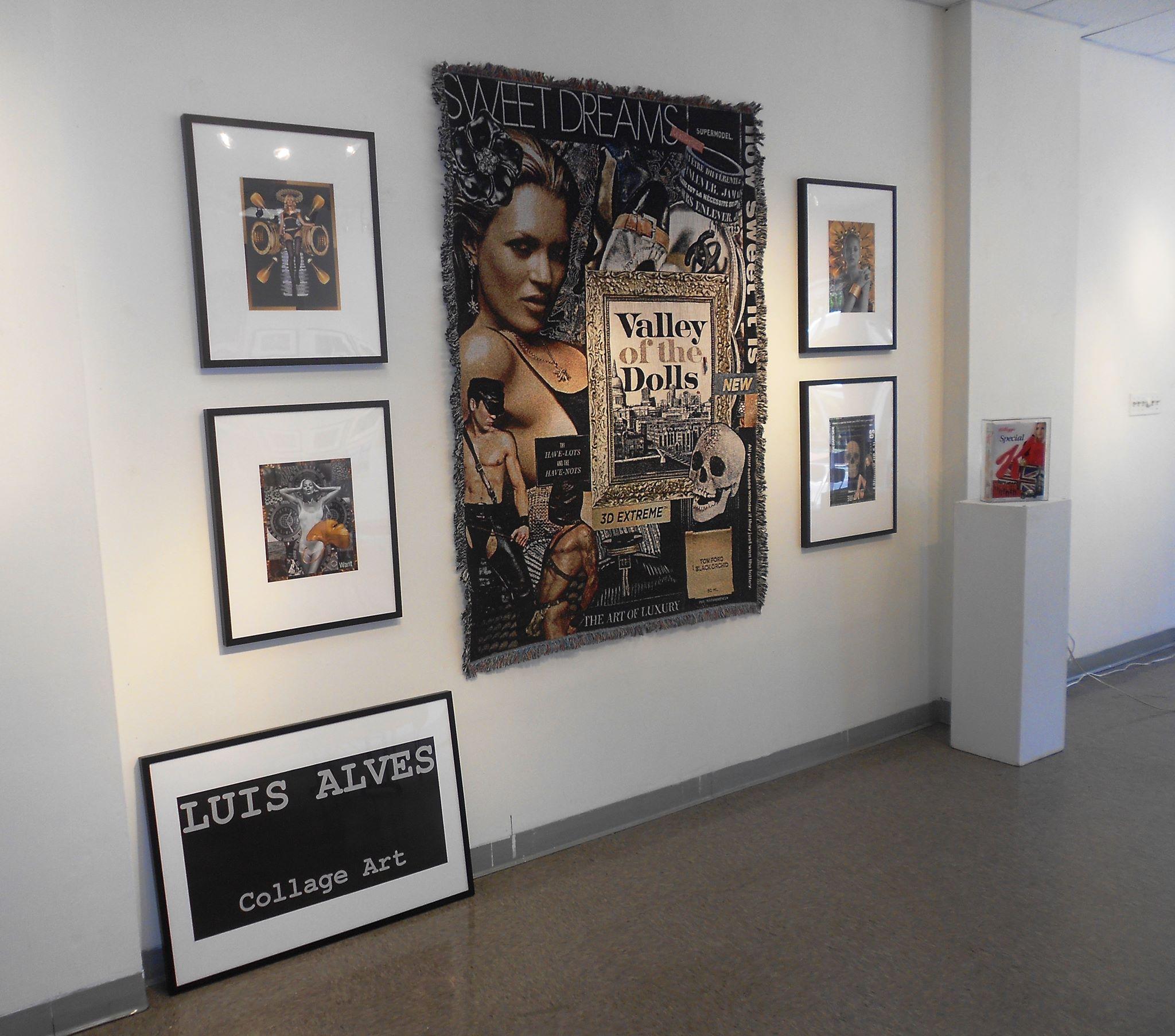 Luis Alves Collage at 1978 Arts Center 2013