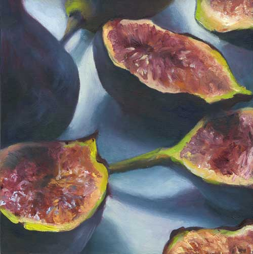 "fig.1 | oil painting | 8x8""   SOLD"