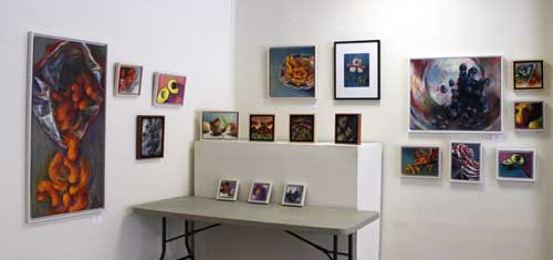 Jo Bradney oil paintings at 1978 Gallery 2013