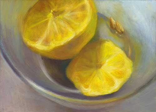 """Refresh - oil painting still life 5x7"""""""
