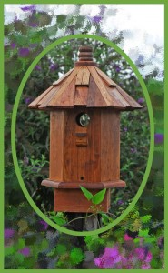 eleganct birdhouse