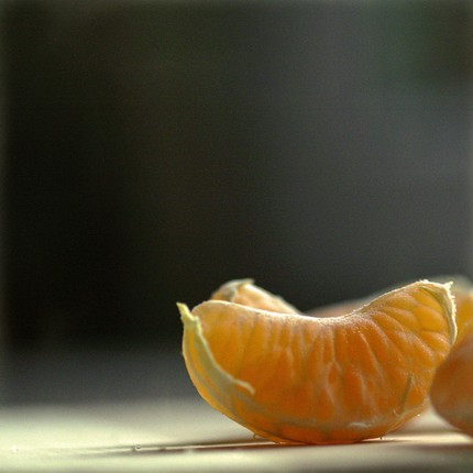 beautiful photo of clementines