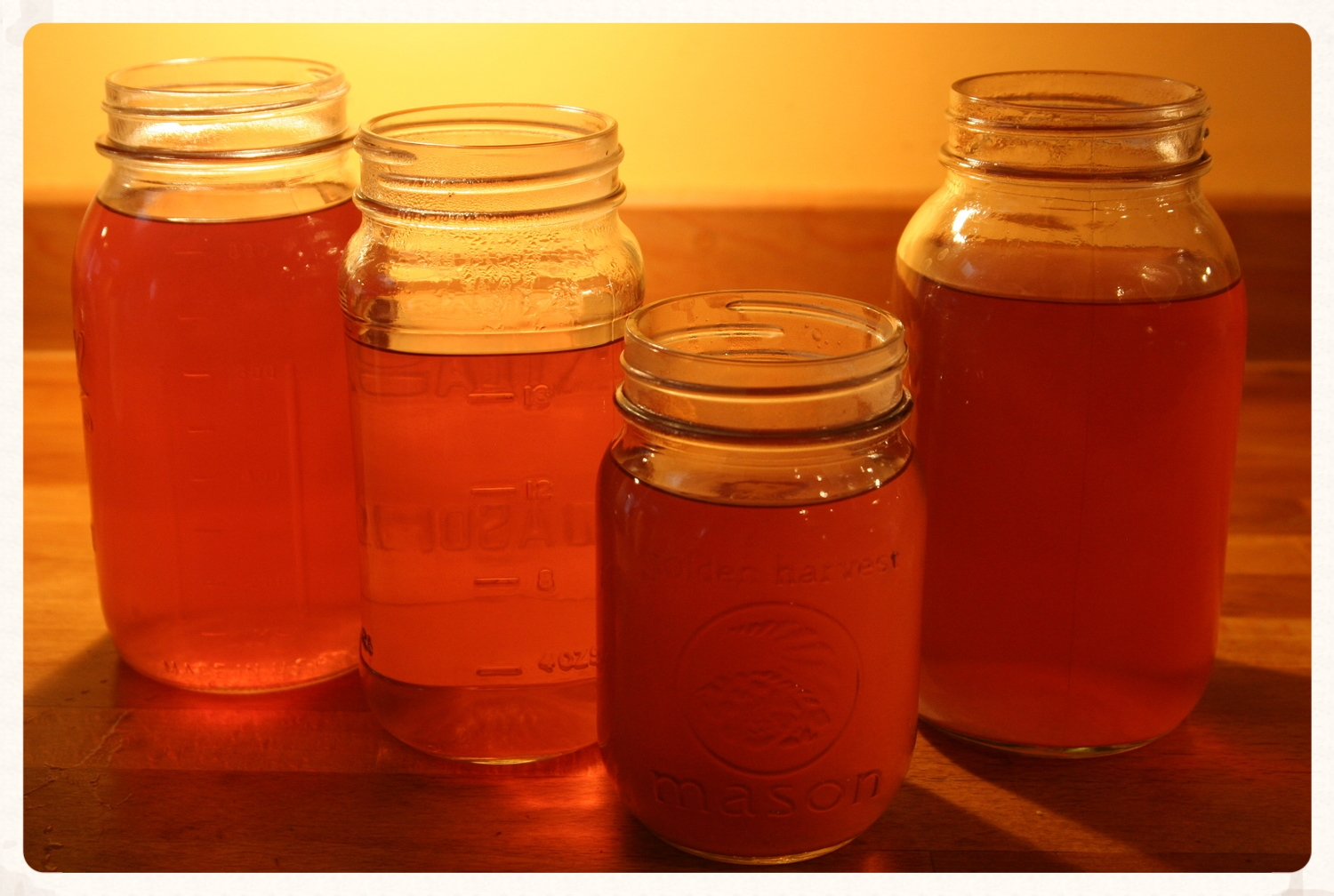 Any left-overs can be poured into jars. Allow to cool and it can then be stored in the fridge for up to 5 days.