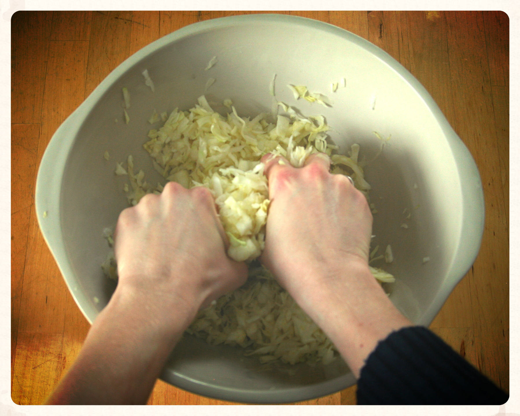 SQUEEZE that cabbage like a pro