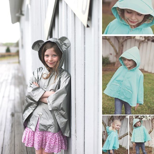 This week is your last chance to get the Elm Poncho sewing pattern. I will be retiring this style and the Ash Jumpsuit on April 21st- which is the last day for the 30% off sale (SPRINGISINTHEAIR). #elmponcho #sewingforkids#petitapetitpatterns#sewing#sewingpatterns#sew#pdfsewingpatterns#sewersofinstagram