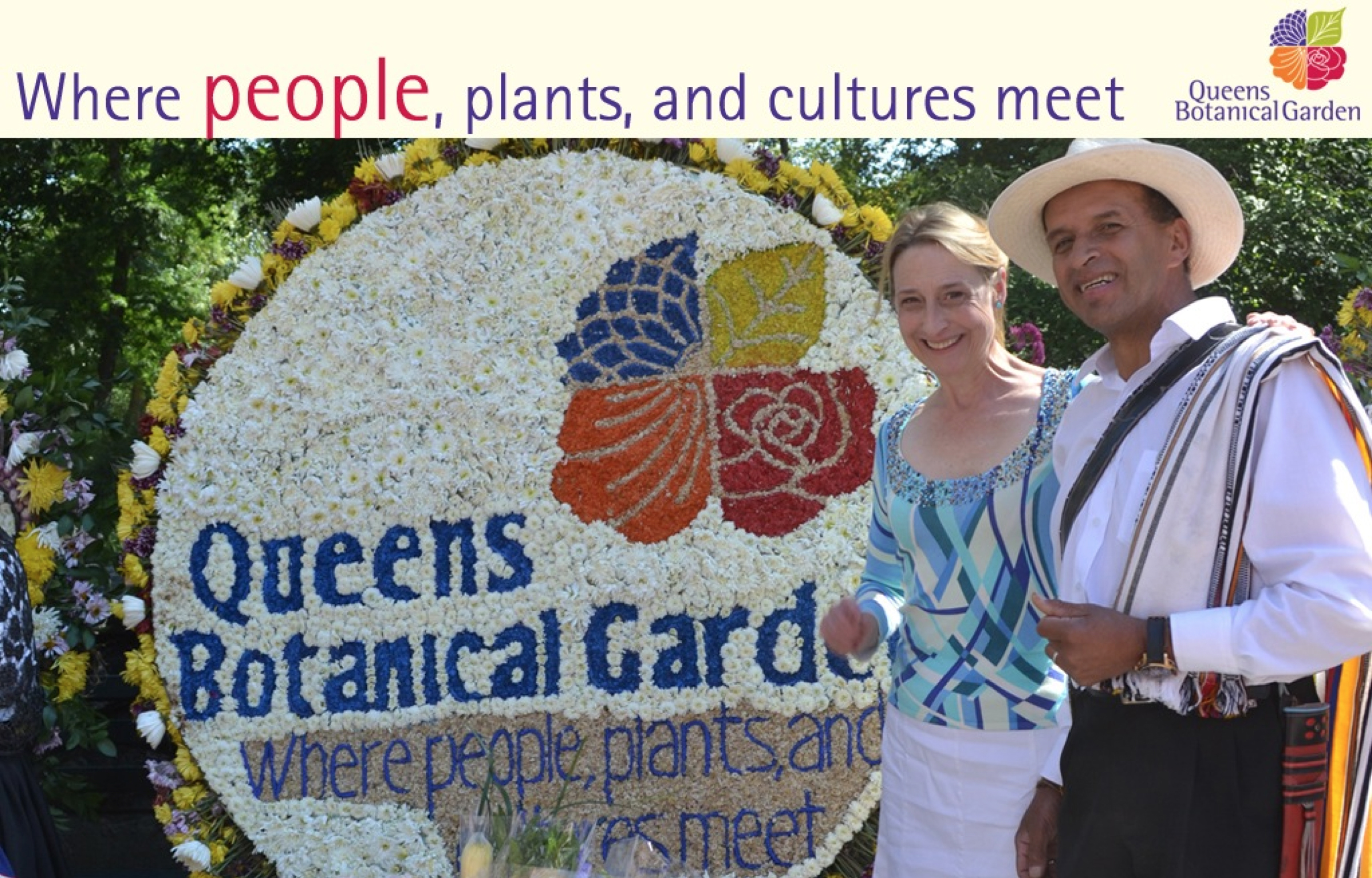 Queens Botanical Garden supports the community