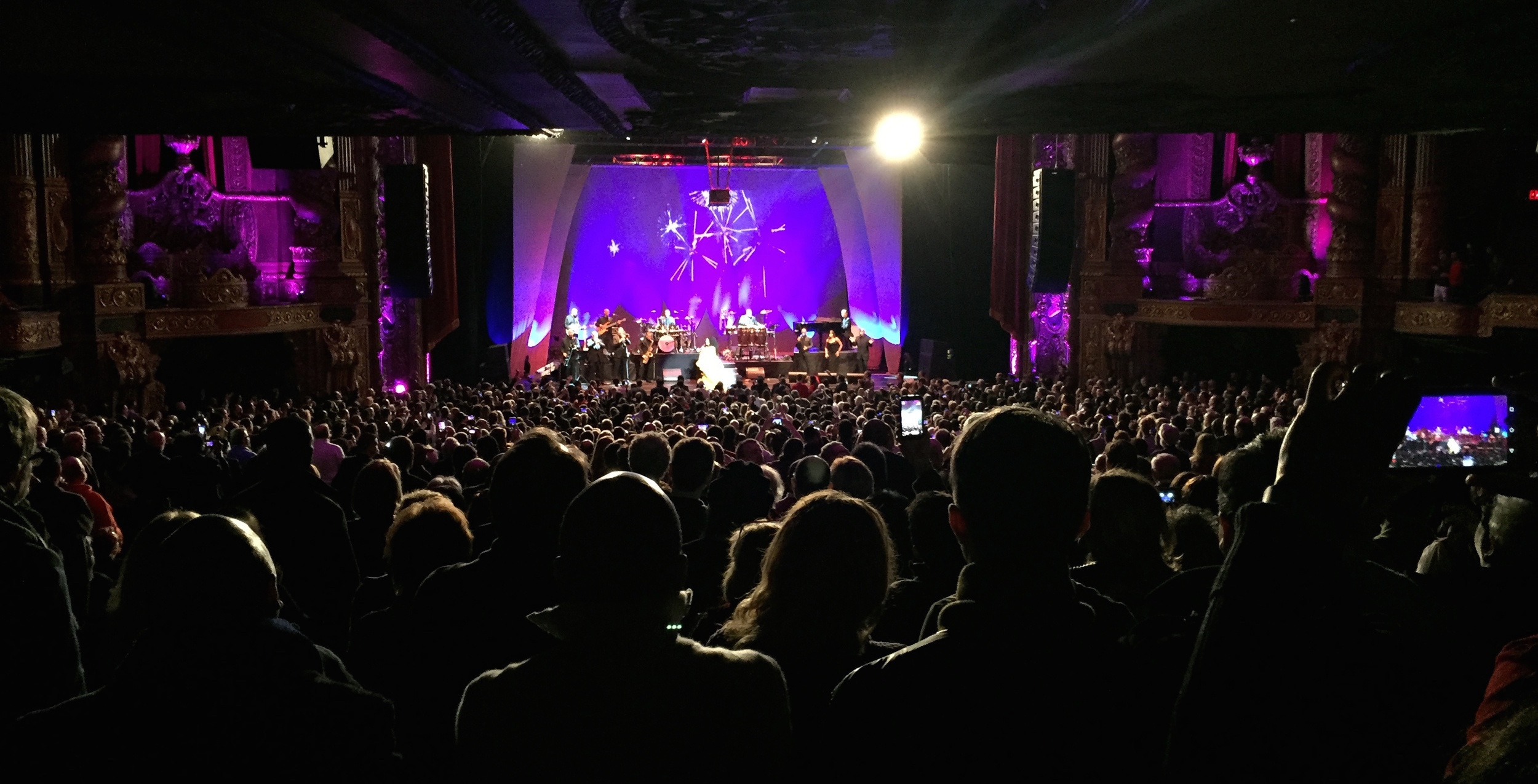 Diana Ross performs at the newly renovated Kings Theatre