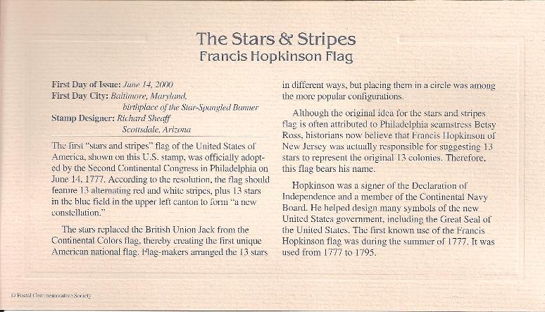 Stars and Stripes Insert