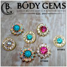 Body Gems Gold Body Jewelry