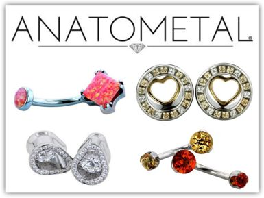 AnatoMetal Body Jewelry