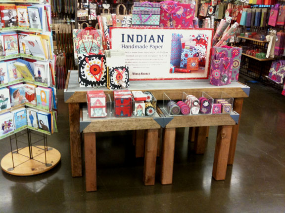 Trio of Display Tables