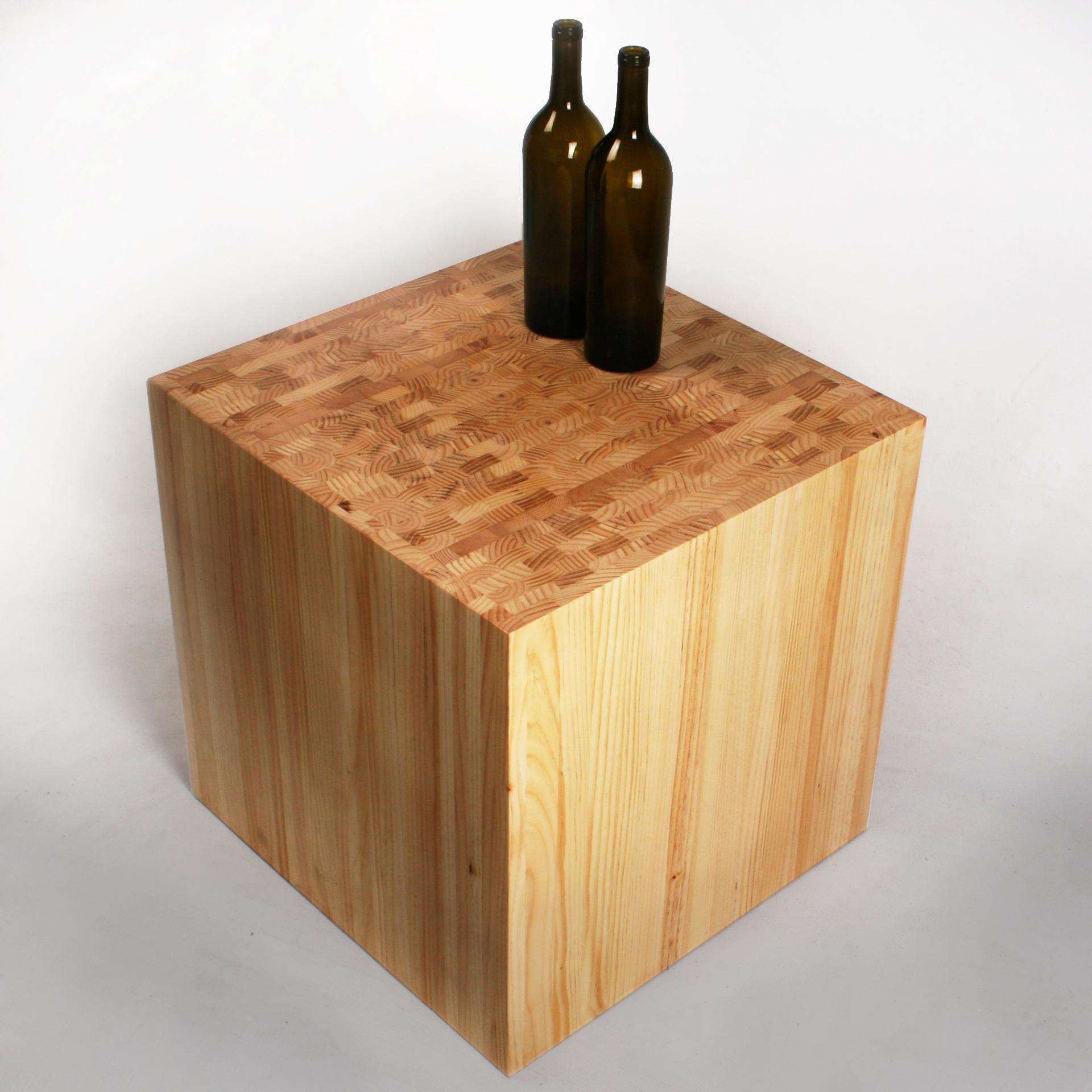Ruszel Cube End-Table