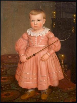 Boy in pink - 1800's
