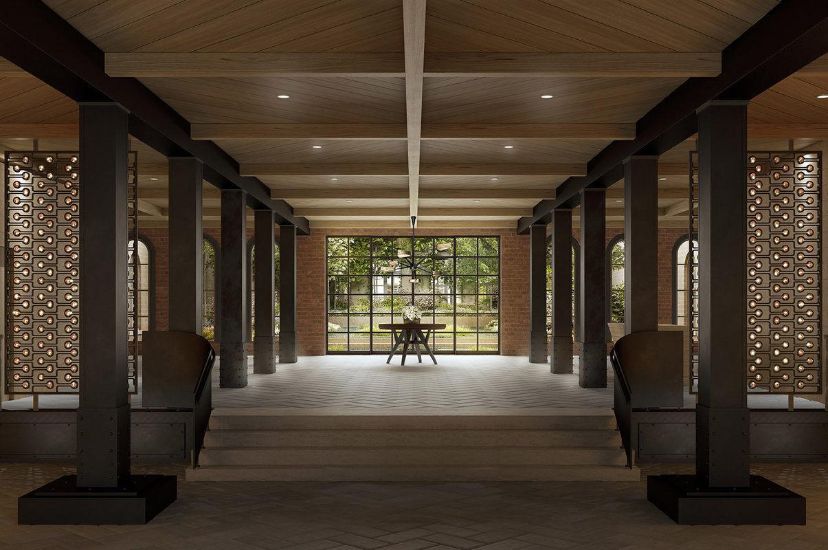 Lobby at 443 Greenwich Street