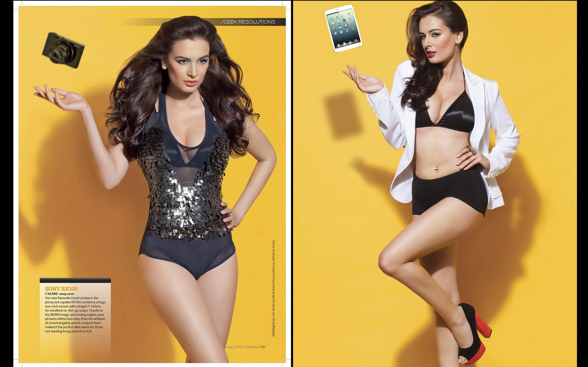 Evelyn Sharma - Stuff Magazine