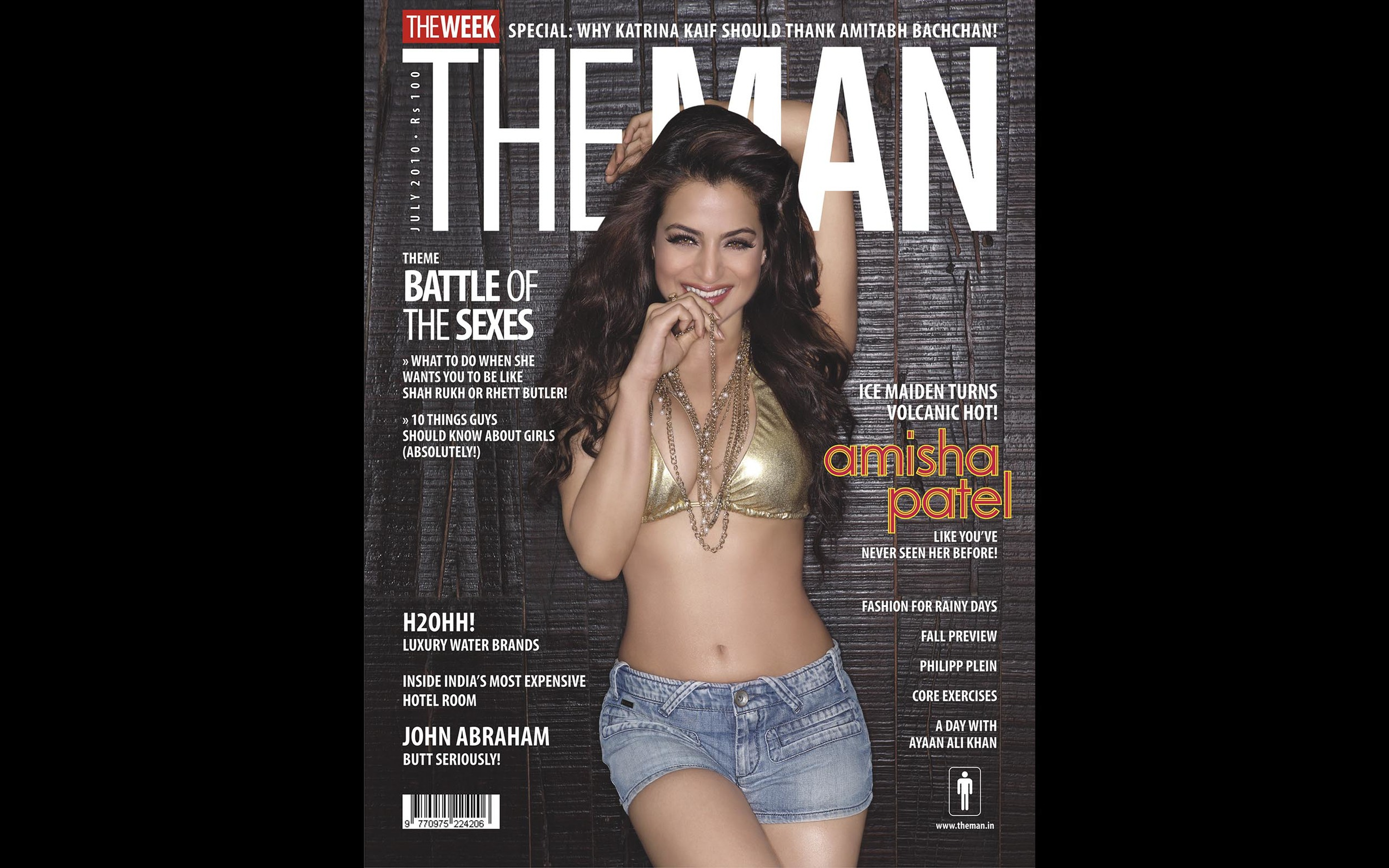 Amisha Patel - The Man Magazine