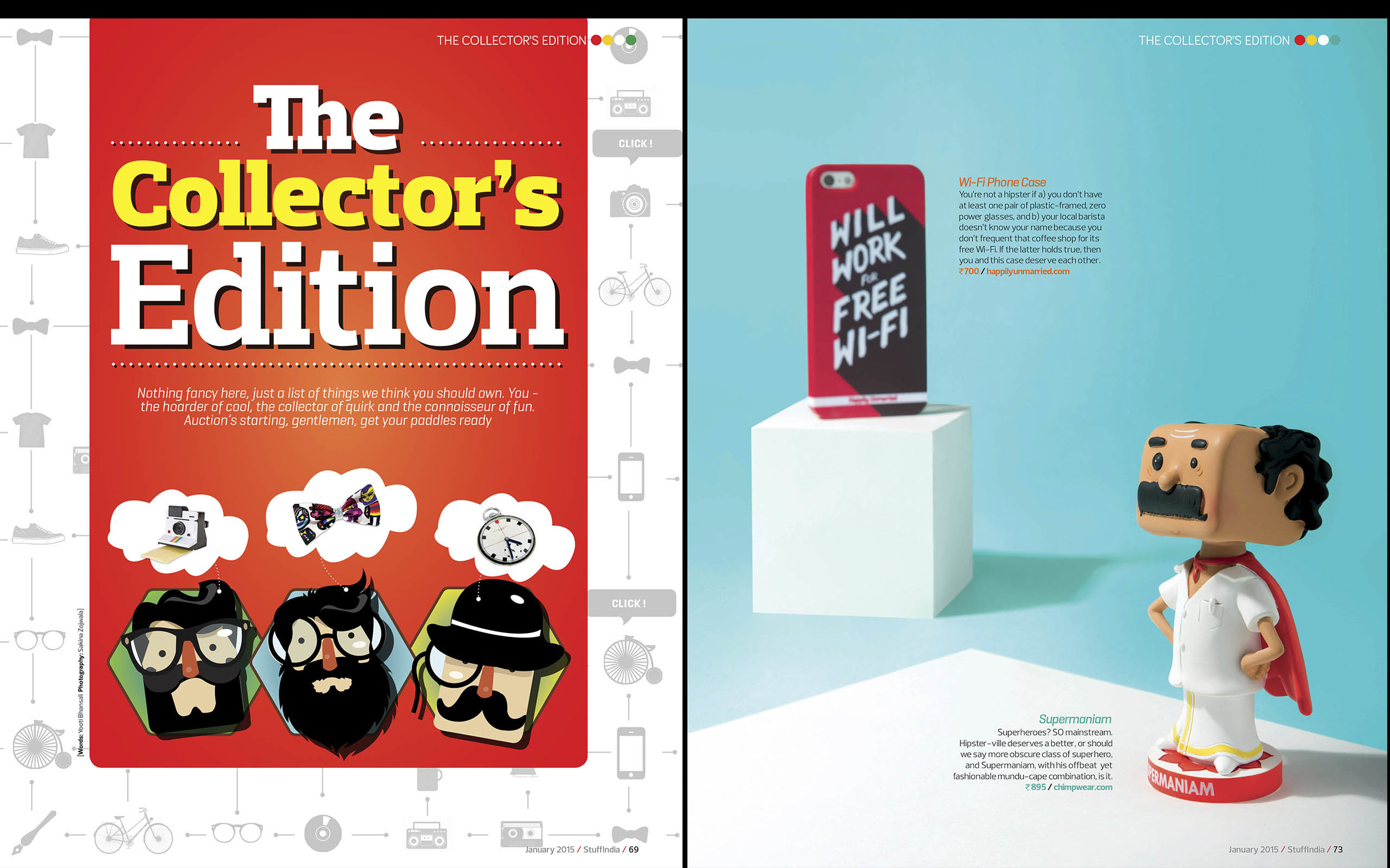 Stuff Magazine- Jan'15 issue