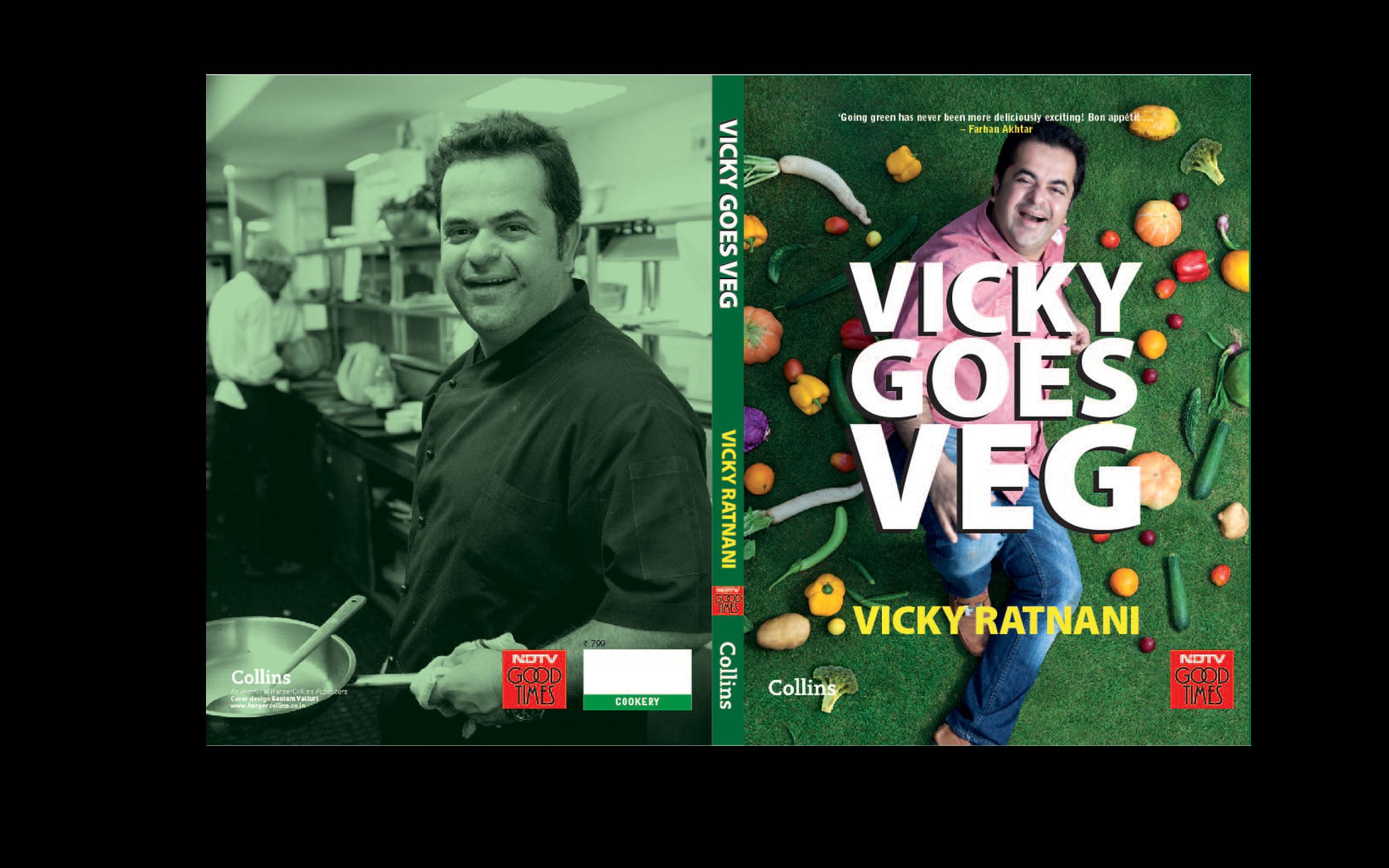 Vicky Goes Veg- Cook book