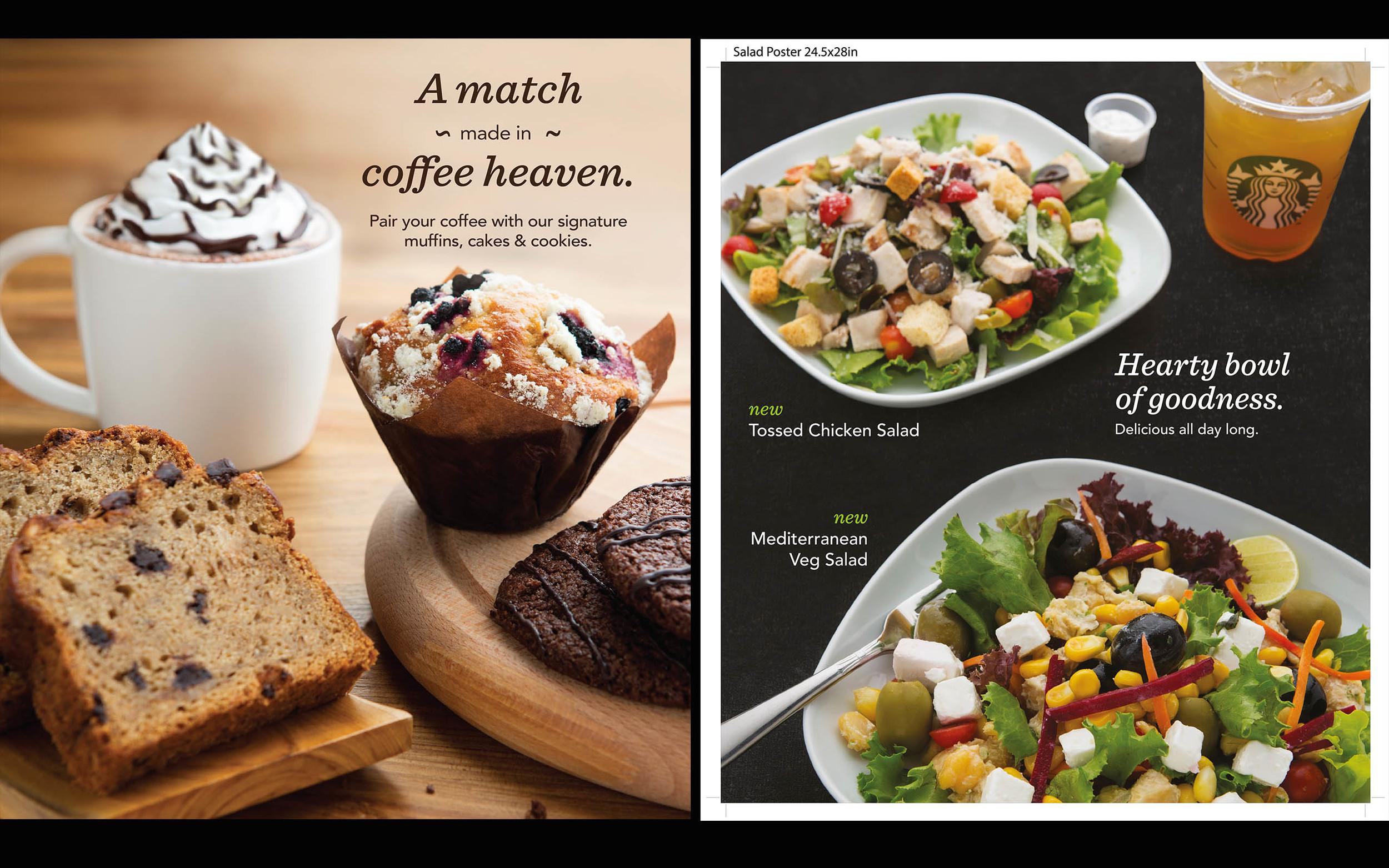 Starbucks India - Food Shoot