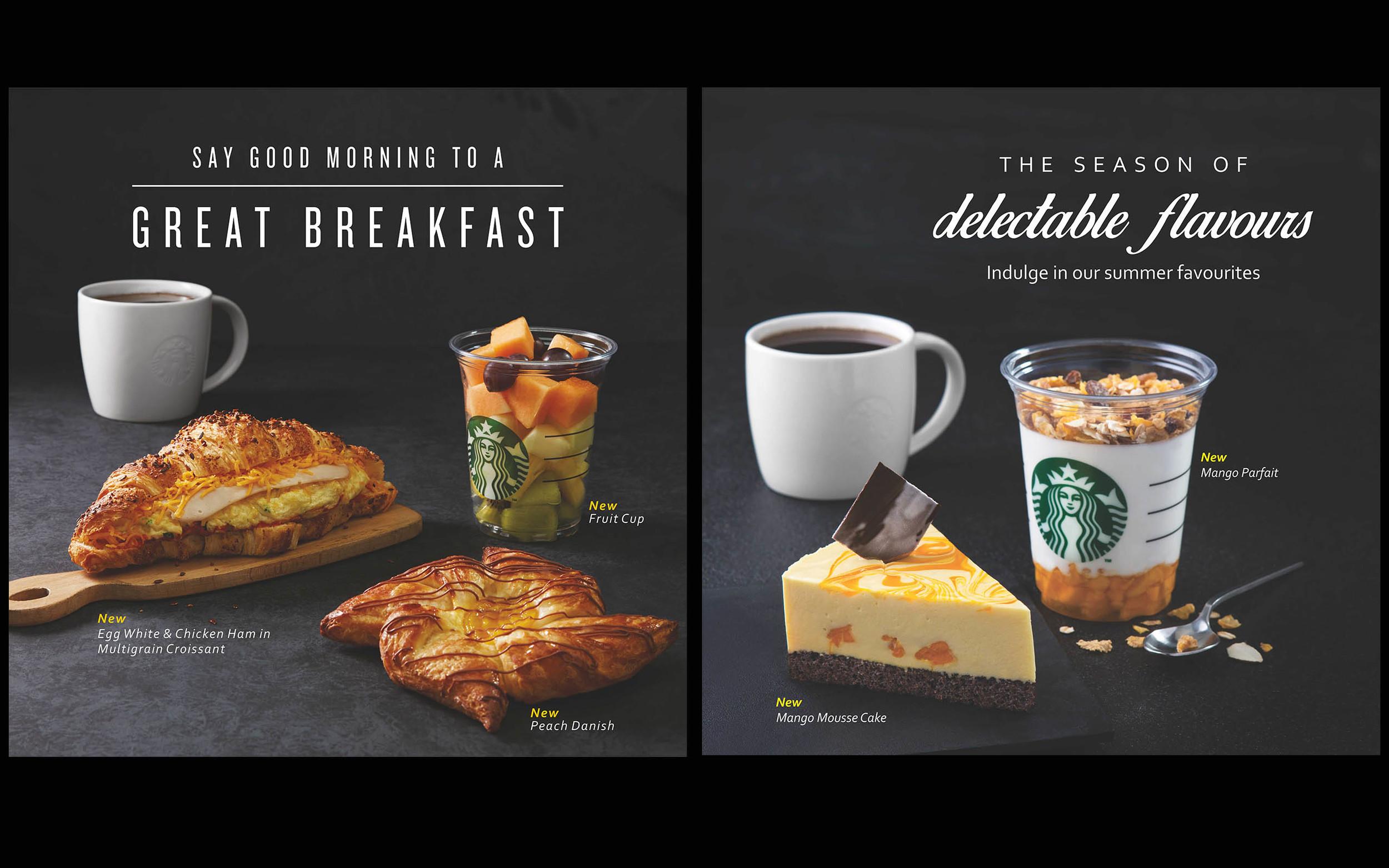 Starbucks India -Food B.O.B