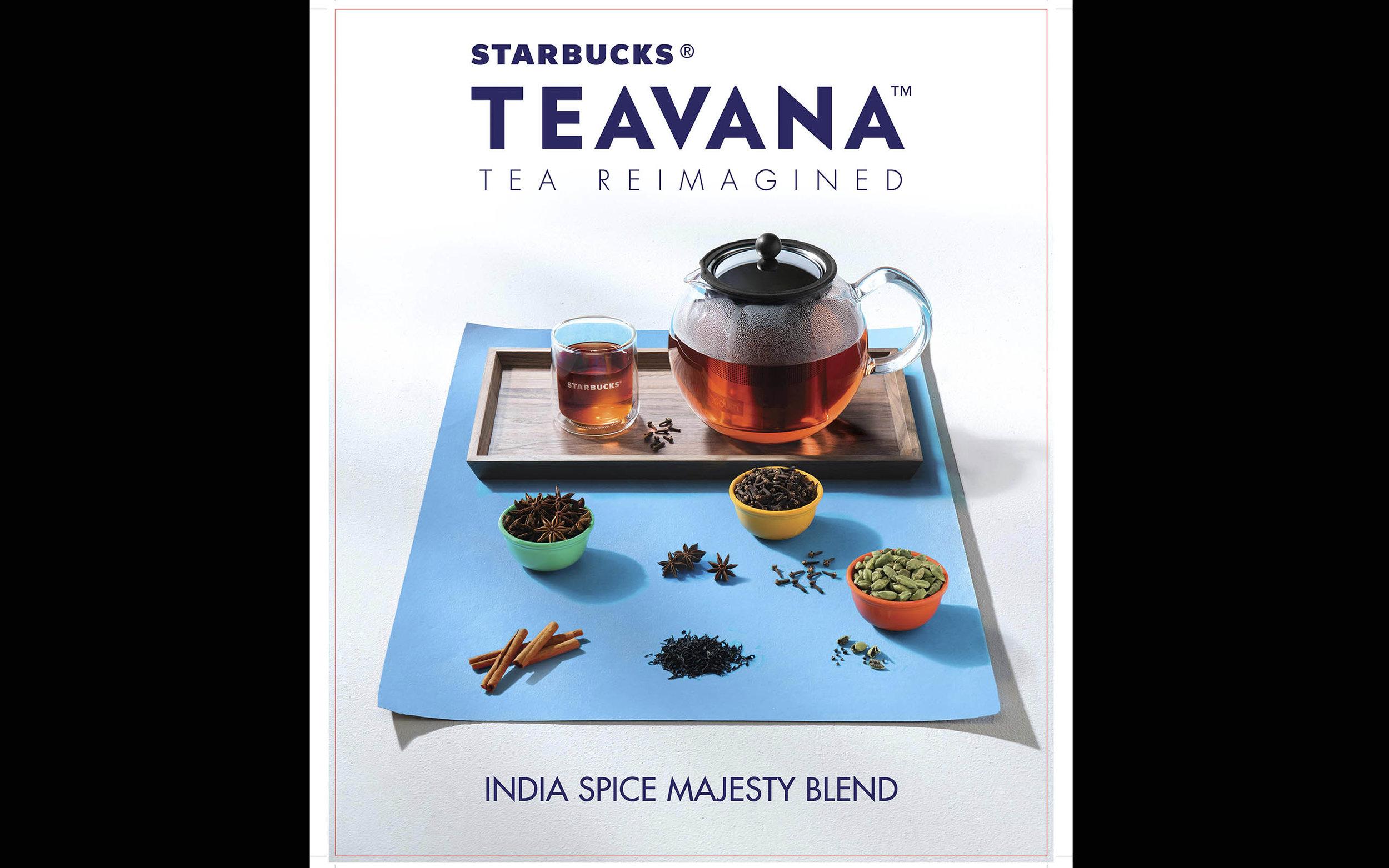 Starbucks India , Teavana