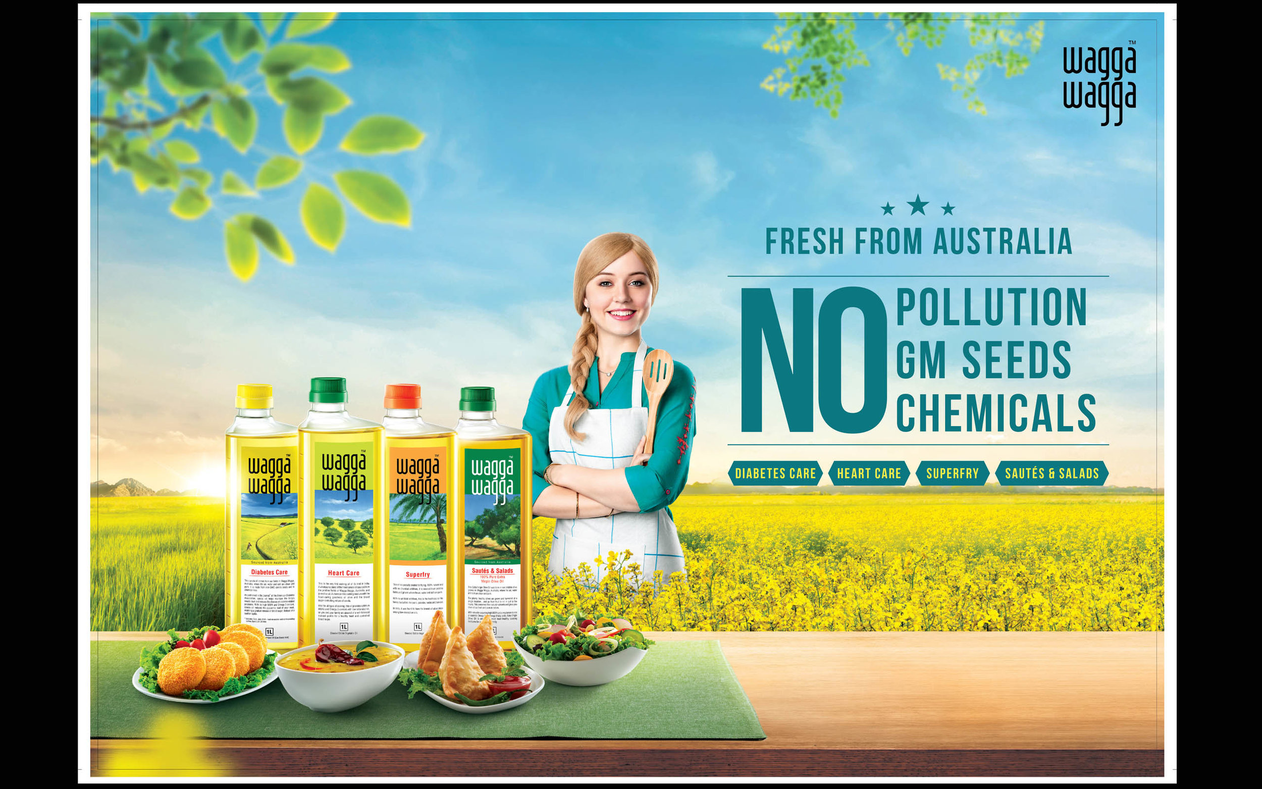Campaign- Wagga Wagga oils