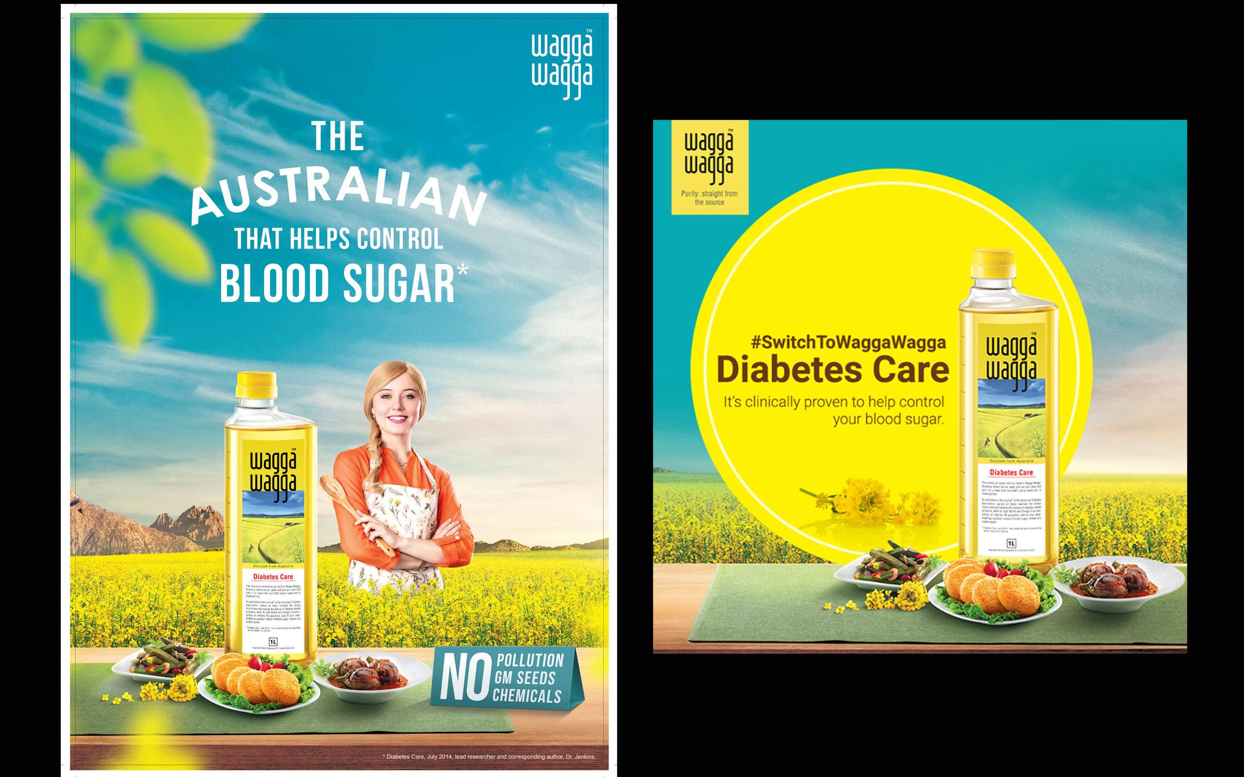 Campaign -Wagga Wagga oils