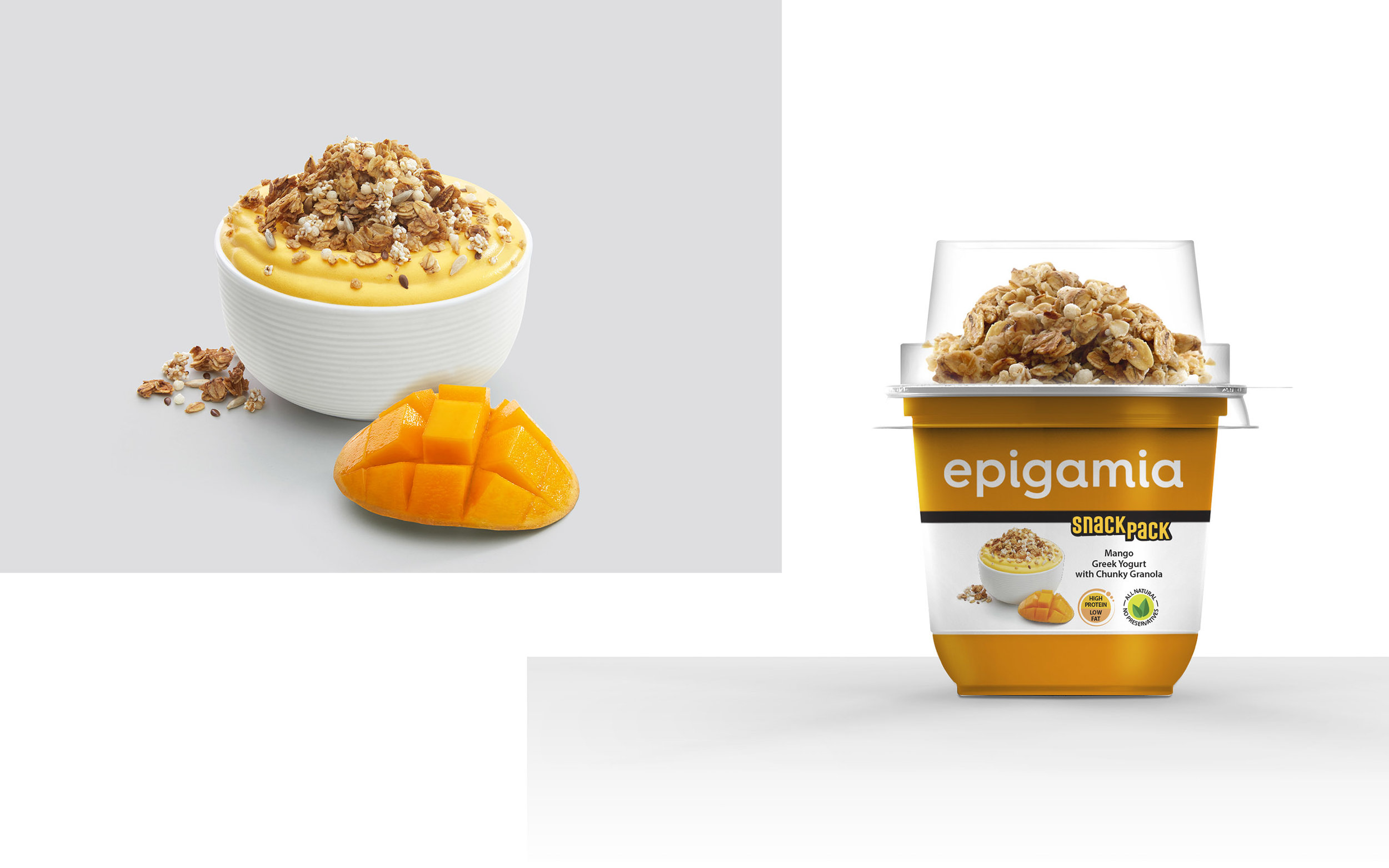 Epigamia Yogurt - SnackPack
