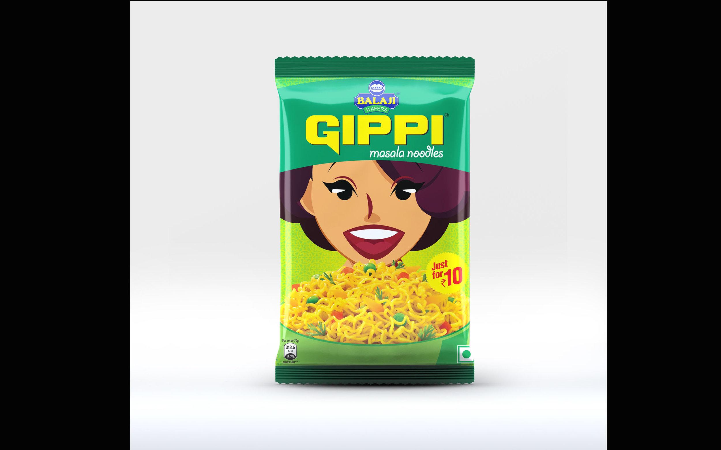 Gippi Noodles-Balaji Foods