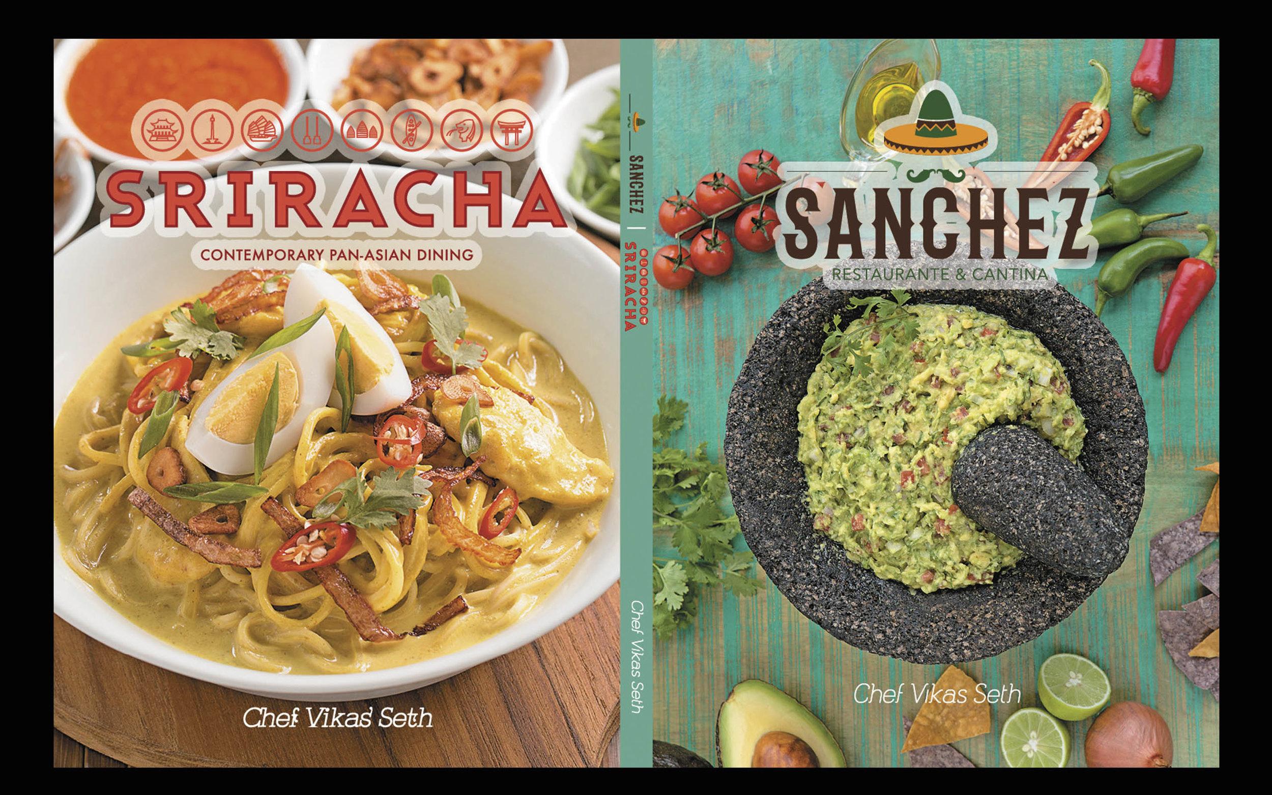Sanchez & Sriracha Food Book