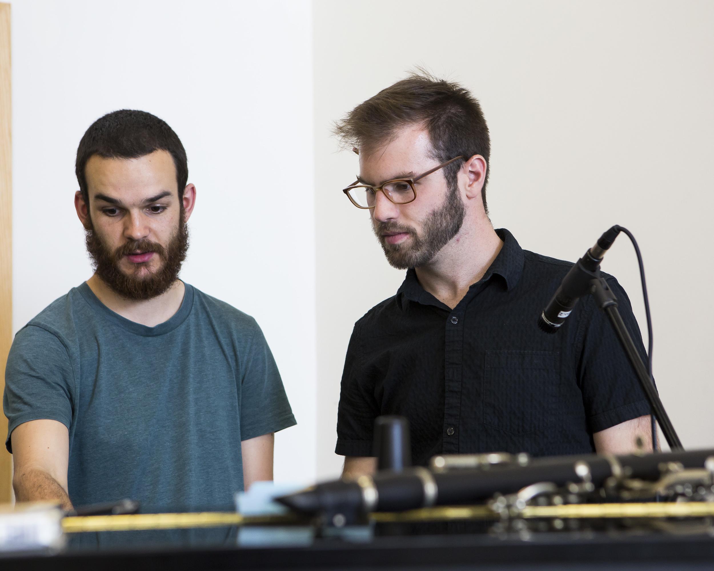 Choreographers and Composers Lab, Phoenix Dance Theatre, Leeds, UK, 2015.