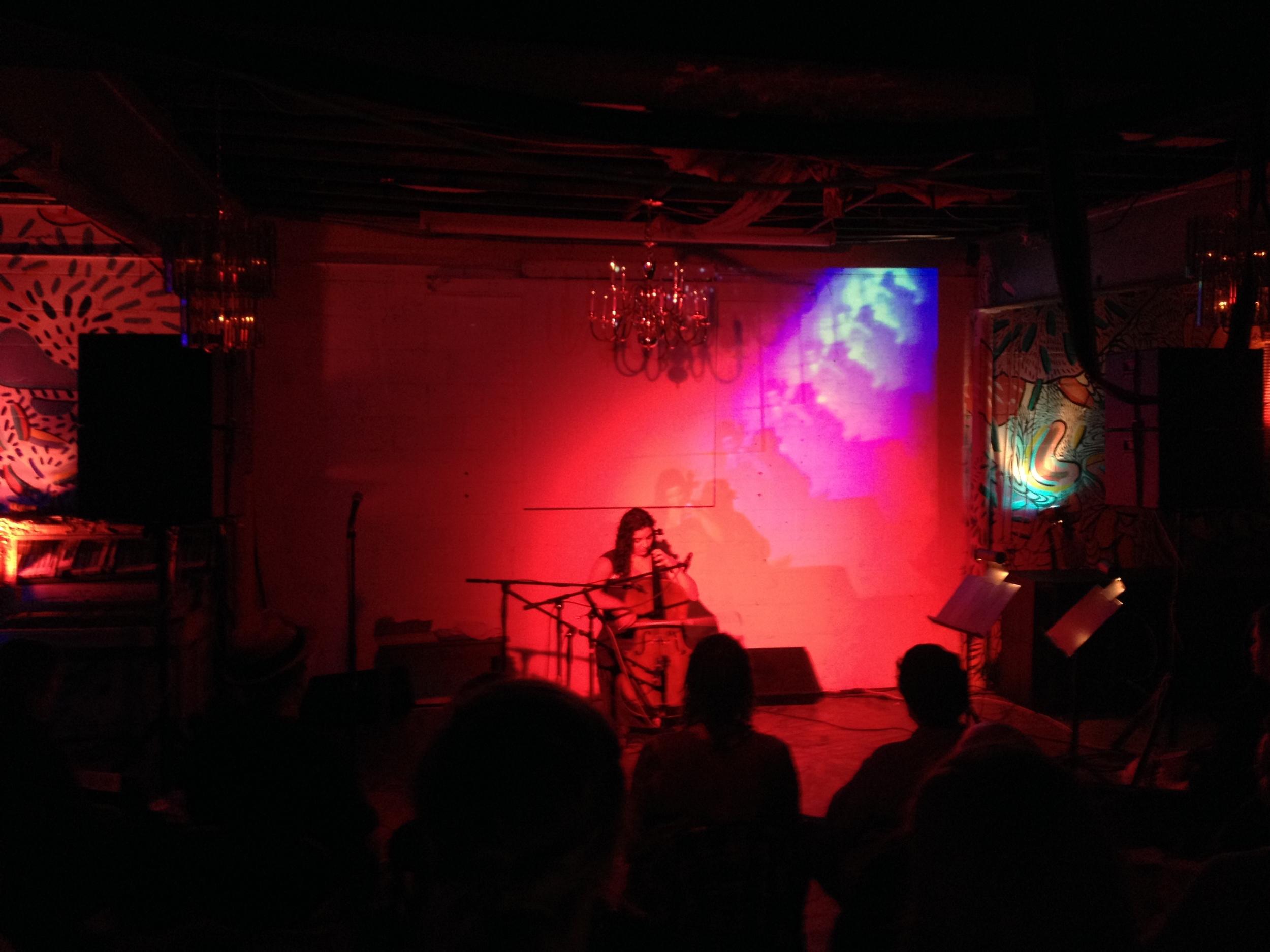 Hyperbolic Chamber Music 1:Grace Juliano,September 2014.